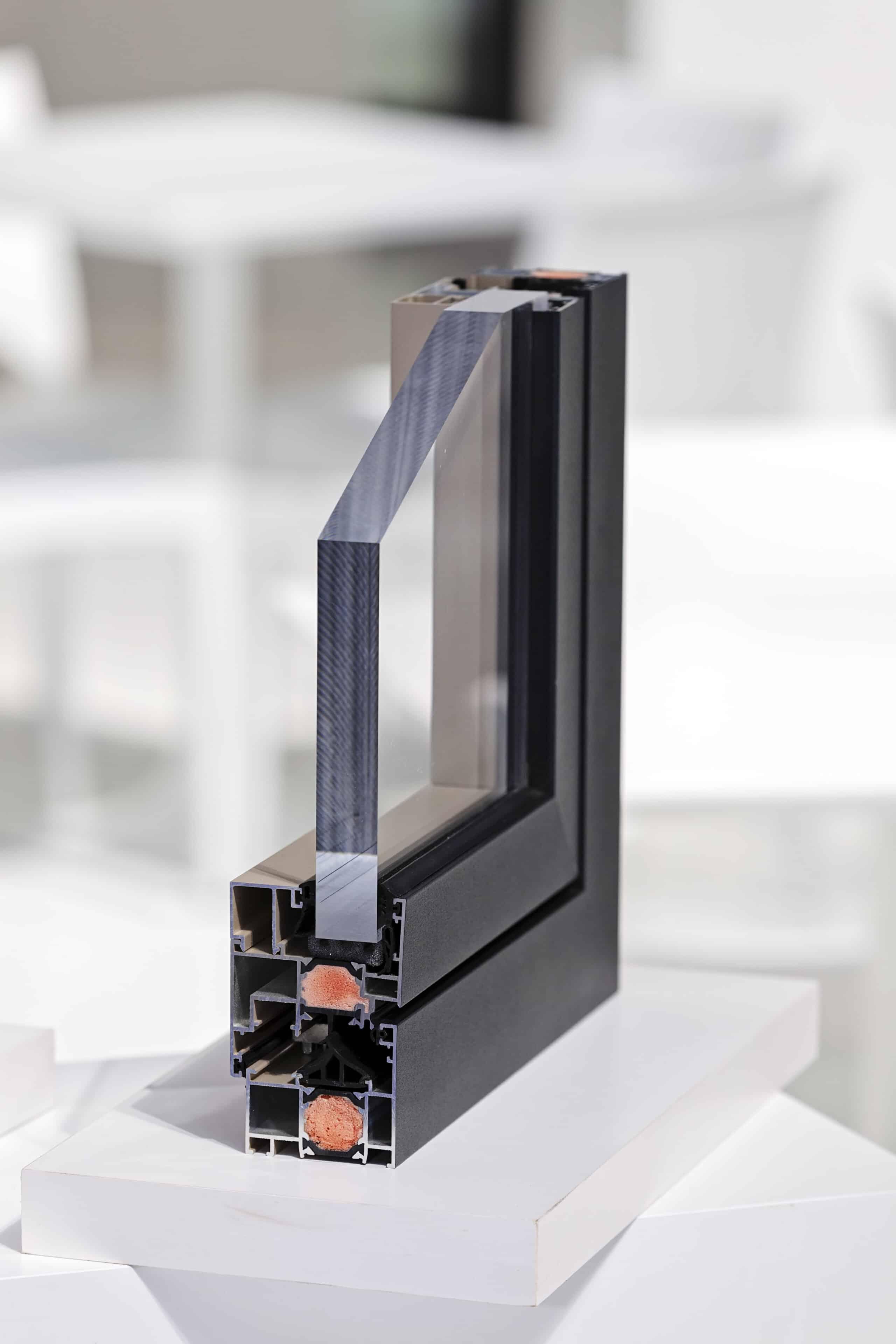 Aluminiumfenster Profilansichten