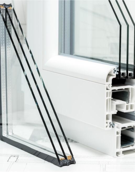 Kunststofffenster Profilansichten
